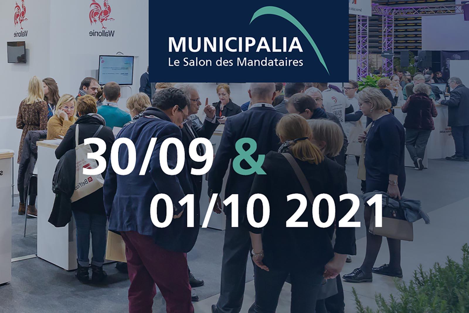 Municipalia – Salon des Mandataires à Marche-en-Famenne (30/09-01/10)