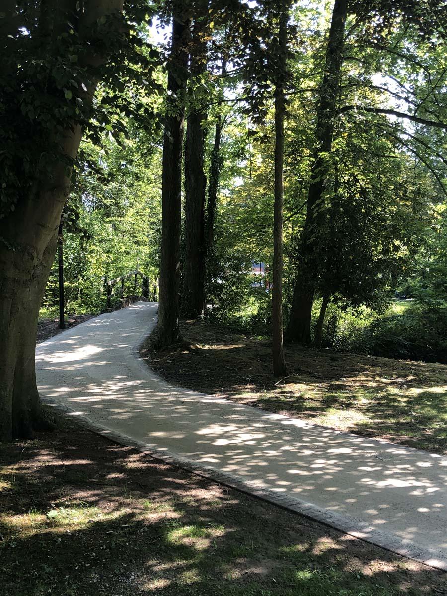 Green Road realisatie te Haaltert, Warandepark - Porfiriet
